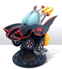 Batman (1966) - Batmobile Statue