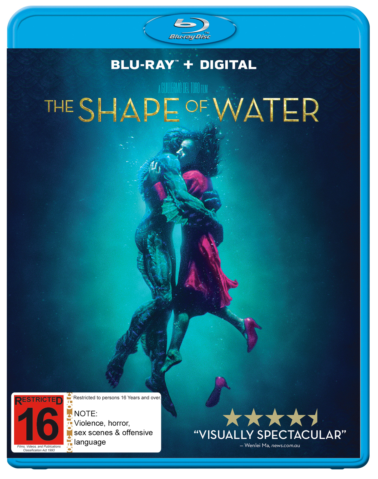 The Shape Of Water on Blu-ray image