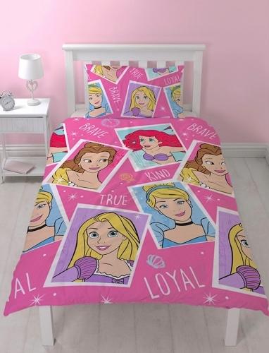 Disney Princess Single Duvet Set