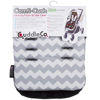 Cuddle Co: Comfi-Cush Memory Foam Stroller Liner - Zig Zag