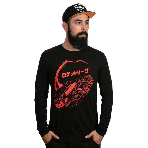 Rocket League Manga Dominus Long Sleeve Shirt (XL)