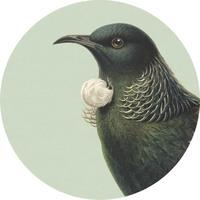 100 Percent NZ - Tui Ceramic Coaster