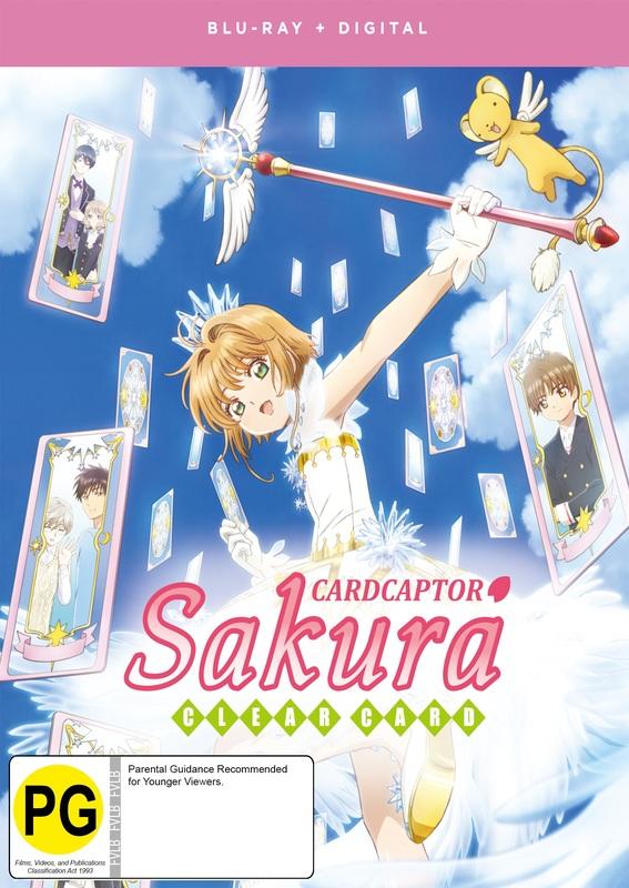 Cardcaptor Sakura: Clear Card - Part 1 on Blu-ray