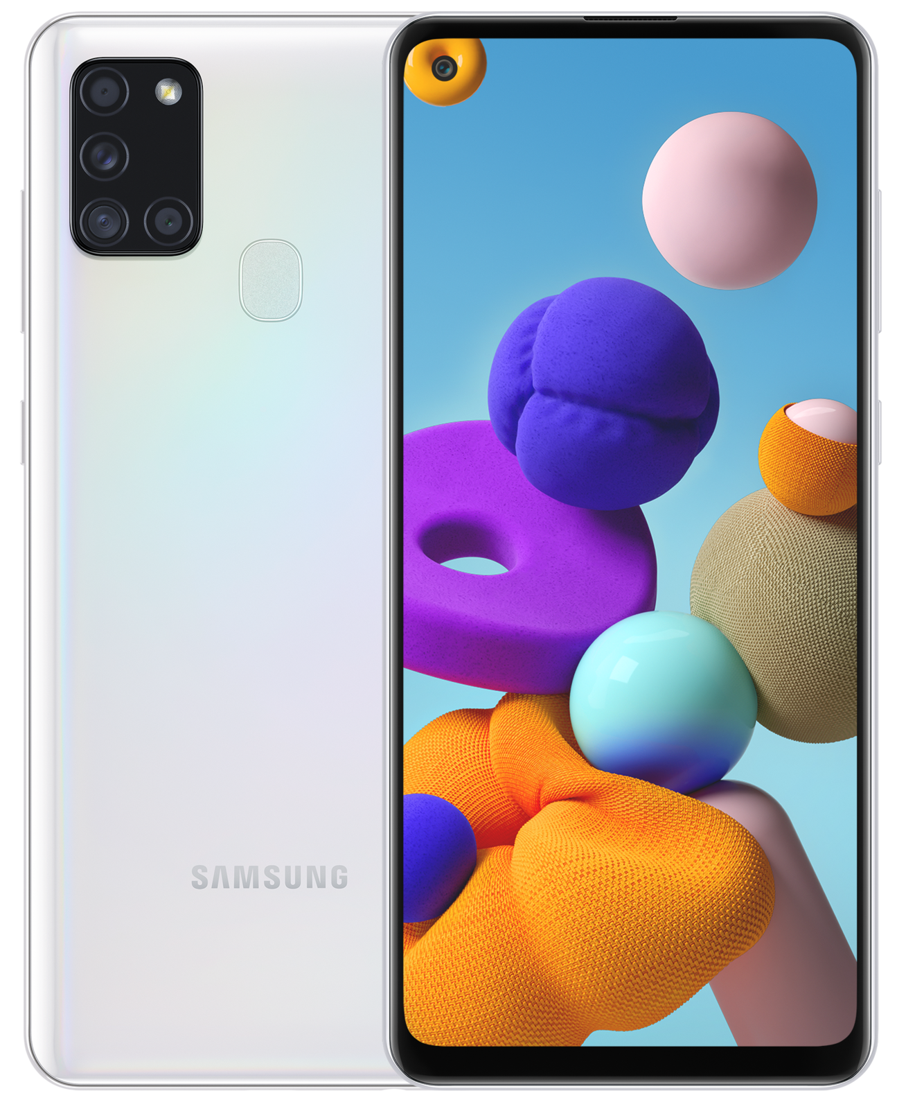 Samsung: Galaxy A21s (64GB/4GB RAM) - White image