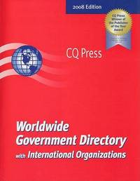 Worldwide Government Directory with International Organizations: 2008 image