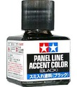Tamiya Panel Line Accent Color (Black)