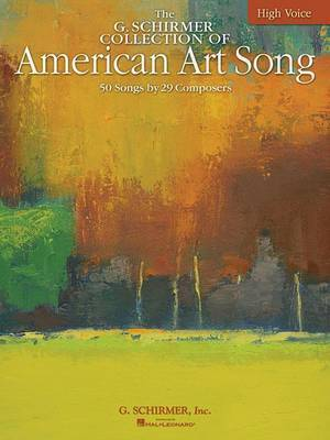 The G. Schirmer Collection of American Art Song image