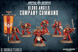 Warhammer 40,000 Blood Angels Company Command Squad