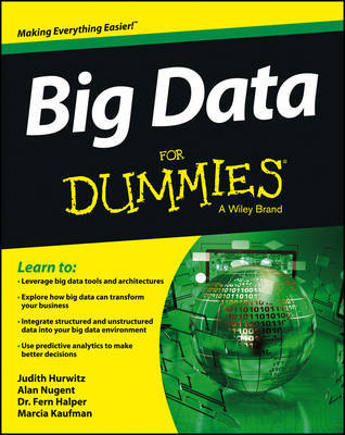 Big Data For Dummies by Alan Nugent