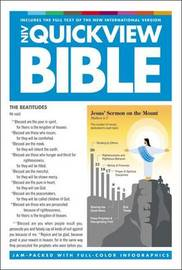 NIV, QuickView Bible, Hardcover by Zondervan