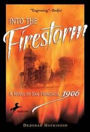 Into the Firestorm by Deborah Hopkinson image