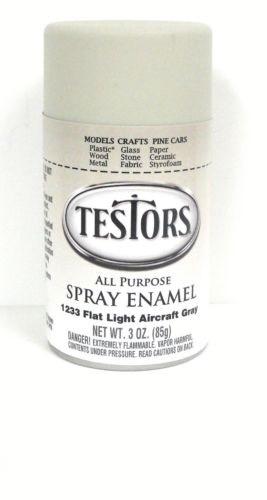 Model Master: Enamel Aerosol - Flat Gray