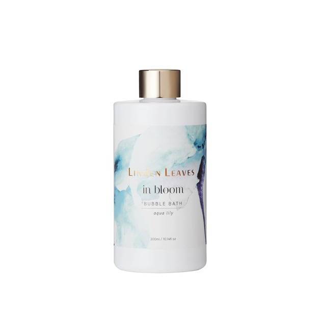 Linden Leaves: In Bloom Bubble Bath - Aqua Lily (300ml)