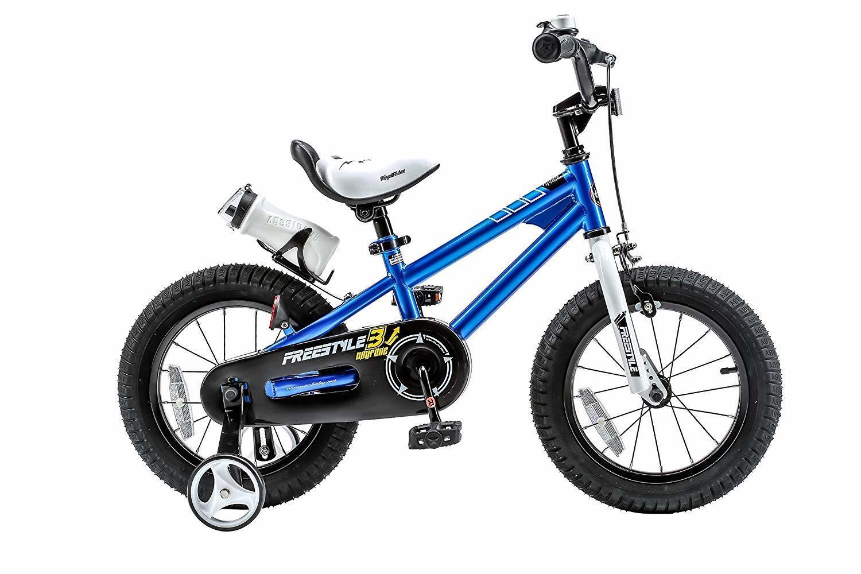 """RoyalBaby: BMX Freestyle - 12"""" Bike (Blue) image"""