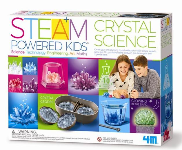 4M STEAM: Powered Kids - Crystal Science Kit