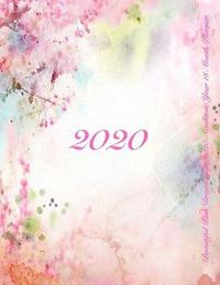Beautiful Pink Dreamscape 2020 Academic Year 18 Month Planner by Laura's Cute Planners