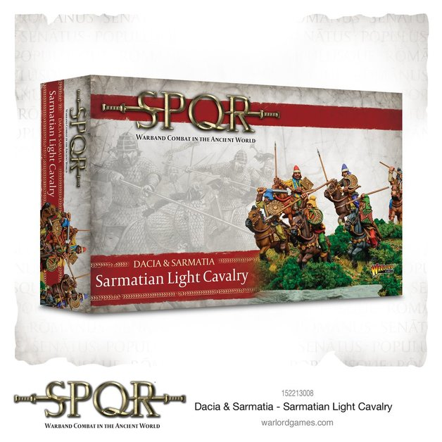 Dacia & Sarmatia - Sarmatian light cavalry