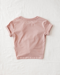 Karibou Kids: One Lucky Mama' Ladies Cotton T-shirt - Dusty Pink 8 image