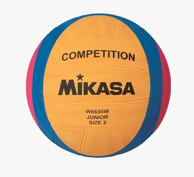 Mikasa W6608 Flipp Junior Water Polo Ball (Size 2)