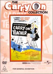 Carry On Teacher on DVD