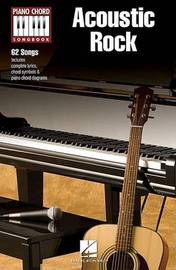 Piano Chord Songbook: Acoustic Rock image