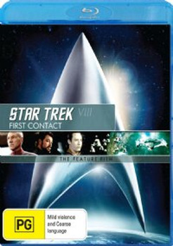 Star Trek VIII: First Contact - The Feature Film on Blu-ray