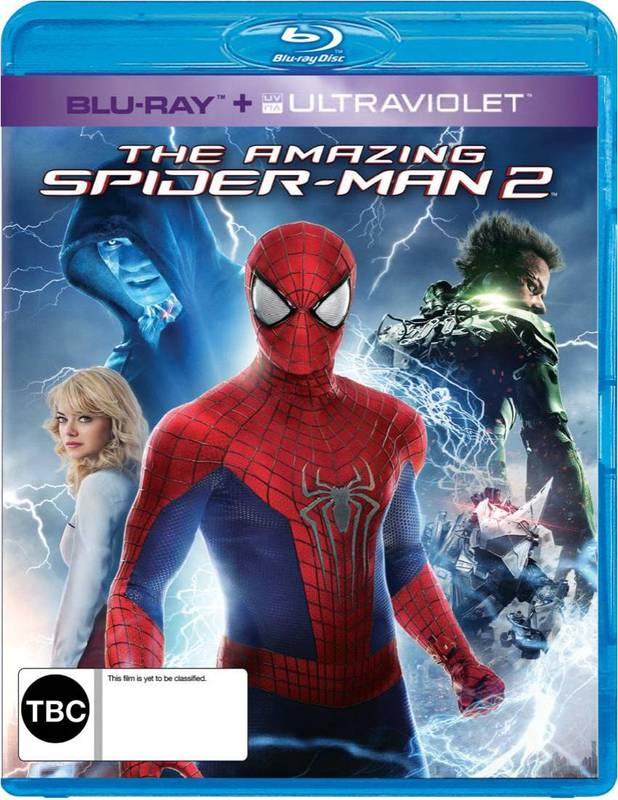 The Amazing Spider-Man 2 on Blu-ray