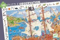 Djeco: Pirates Observation Jigsaw Puzzle