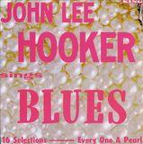 John Lee Hooker Sings Blues (LP) by John Lee Hooker
