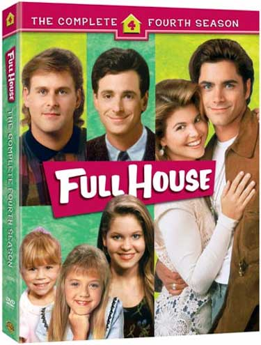 Full House - Complete Season 4 (4 Disc Set) on DVD image