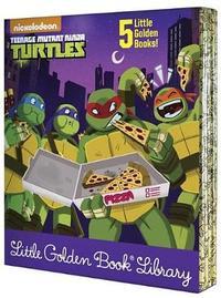 Teenage Mutant Ninja Turtles Little Golden Book Library (Teenage Mutant Ninja Turtles) by Various ~