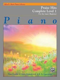 Alfred's Basic Piano Library Praise Hits Complete, Bk 1
