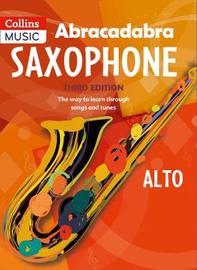 Abracadabra Saxophone (Pupil's book) by Jonathan Rutland image