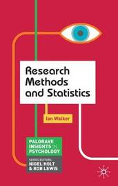 Research Methods and Statistics by Ian Walker