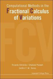 Computational Methods In The Fractional Calculus Of Variations by Delfim F. M. Torres