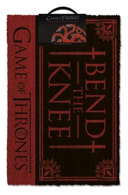 Game Of Thrones - Bend The Knee Door Mat image