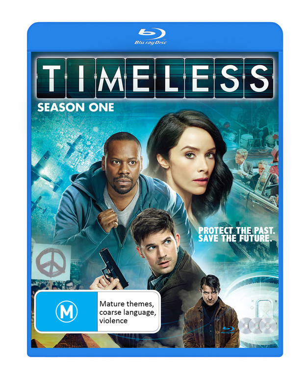 Timeless - Season One on Blu-ray