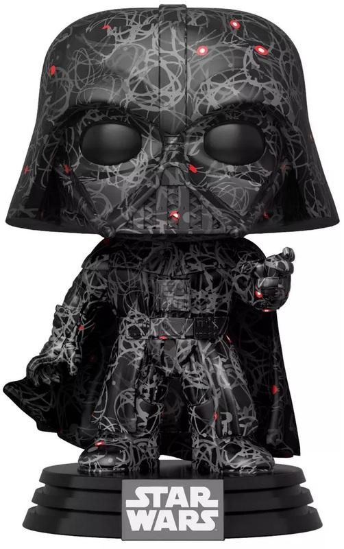 Star Wars - Darth Vader (Futura) Pop! Vinyl Figure + Protector