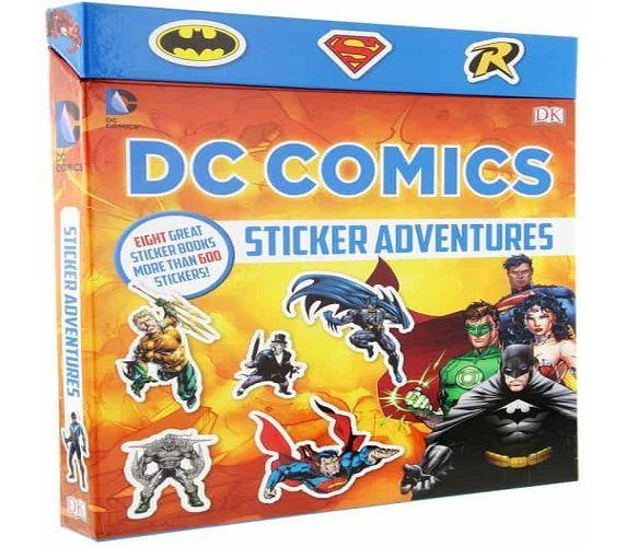 DC Comics Sticker Adventures by DK