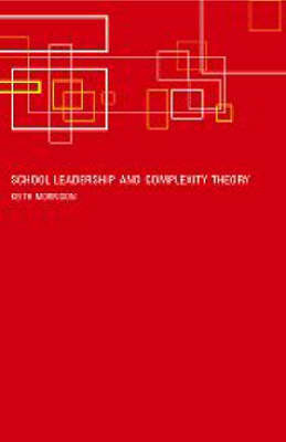 School Leadership and Complexity Theory by Keith Morrison image