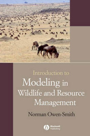 Introduction to Modeling in Wildlife and Resource Conservation by Norman Owen-Smith image