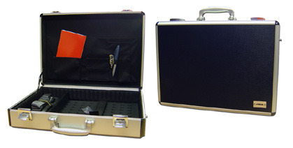 Laser Aluminium laptop carry case - Up to 17