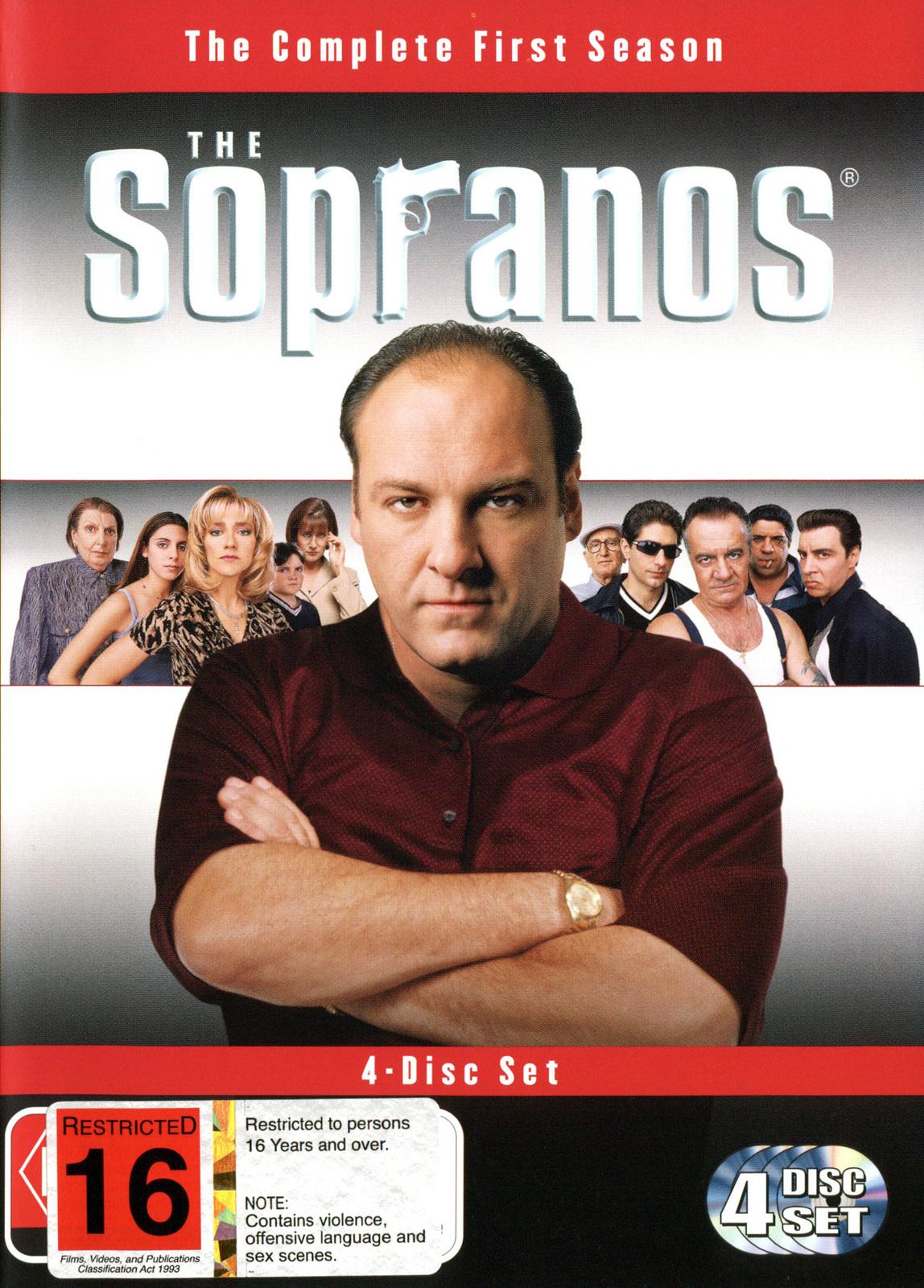 The Sopranos - Season 1 (4 Disc Box Set) on DVD image