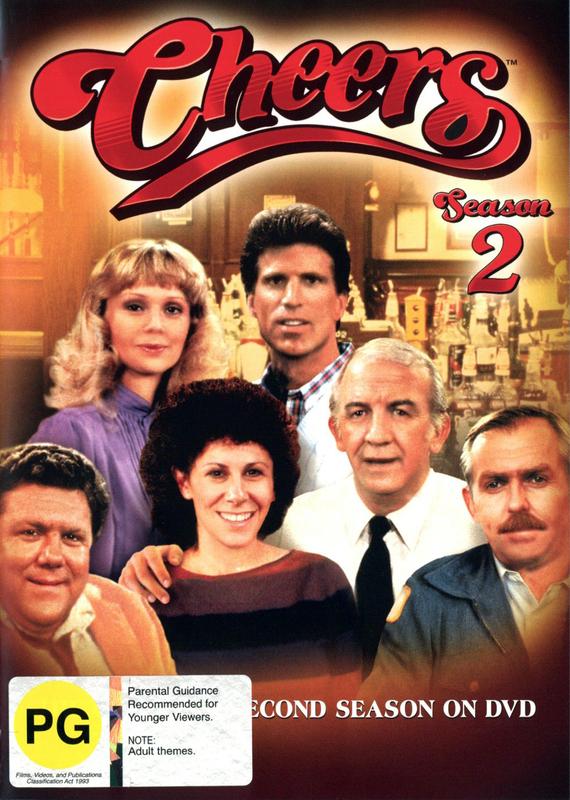 Cheers - Complete Season 2 on DVD