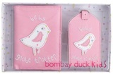 Bombay Duck Luggage Tag and Passport Cover Set - Baby Globe Trotter