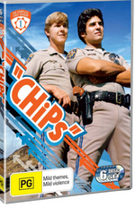 CHiPs - Complete Season 1 (6 Disc Set) on DVD