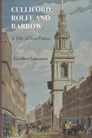 Culliford, Rolfe & Barrow by Geoffrey Lancaster