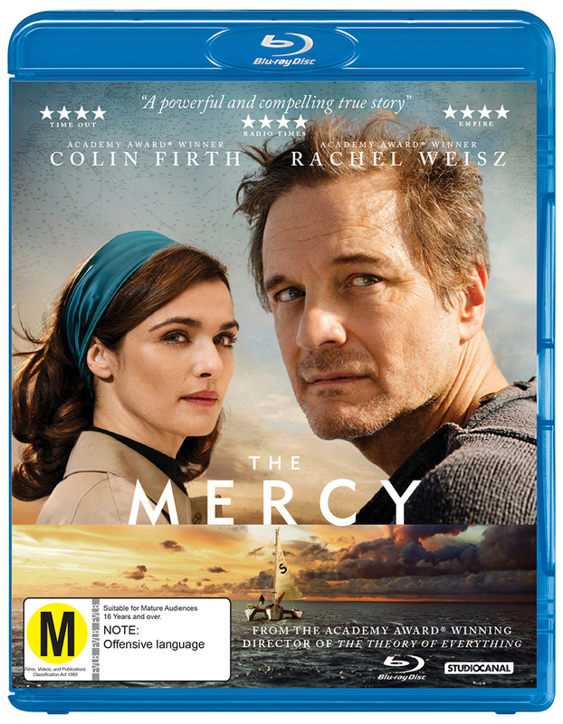 The Mercy on Blu-ray