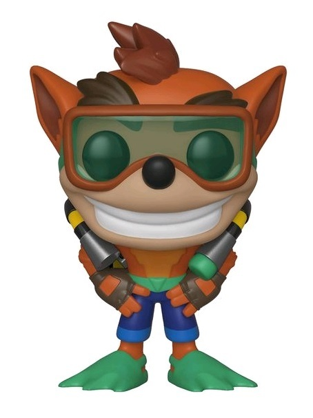 Crash Bandicoot (Scuba Gear) - Pop! Vinyl Figure
