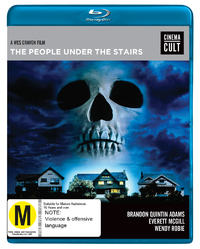 The People Under the Stairs on Blu-ray